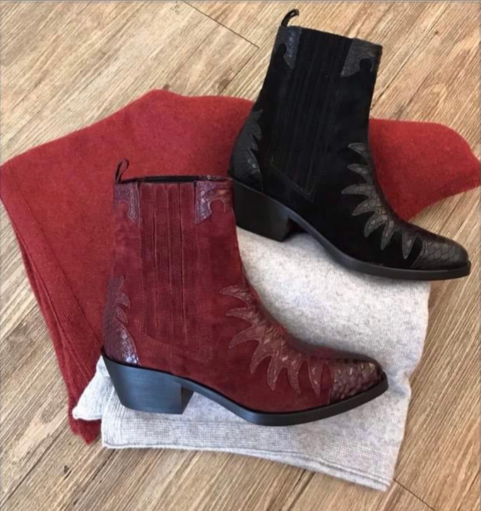 IMG 6323chaussures Boots Bordeaux